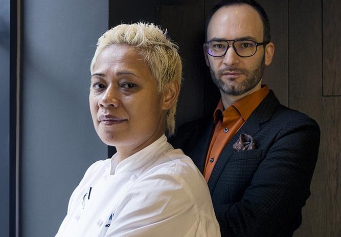 Portraits of Monica and David Galetti