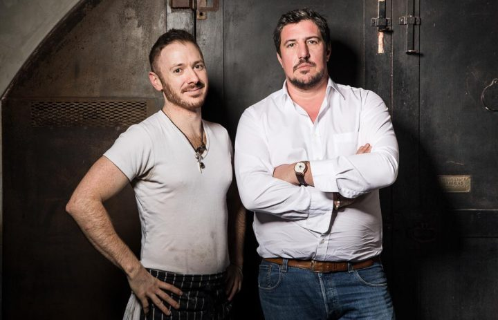 Portraits of Claude Bosi and Ollie Dabbous