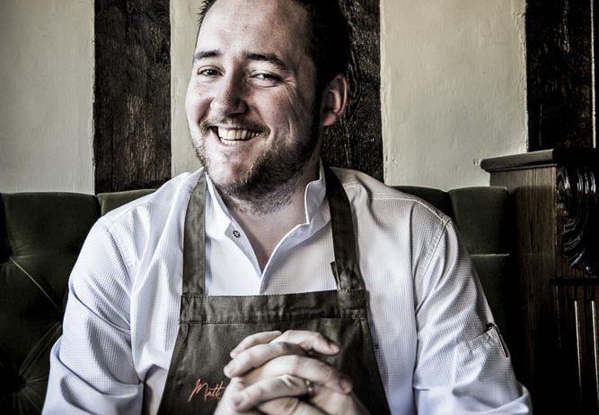 Portrait of Chef Matt Worswick