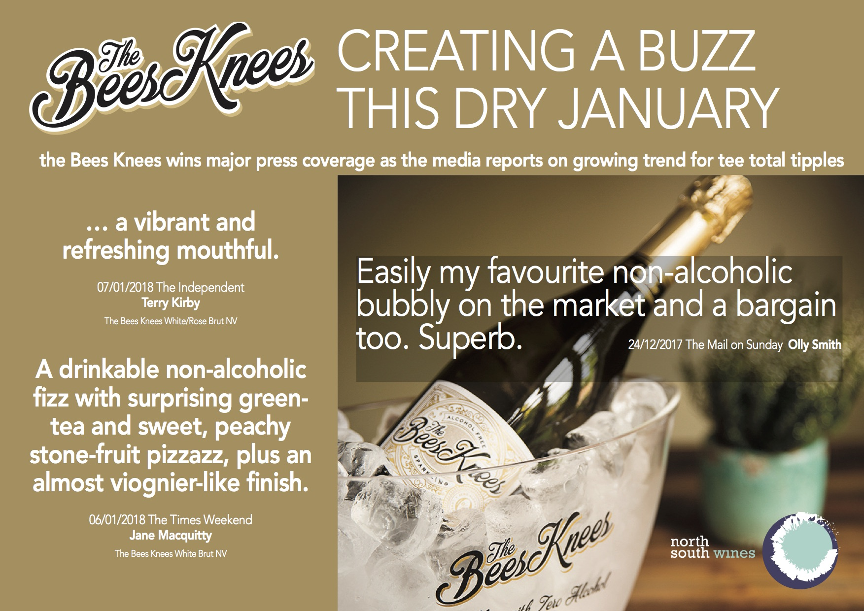 Bees Knees, Dry January