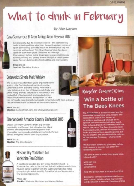 Bees Knees Press Coverage